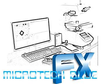 Microtech FX/2 Blue